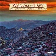 Nástěnný kalendář - Wisdom of Tibet 2018