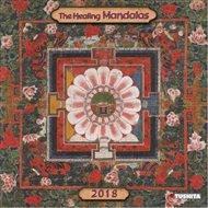 Nástěnný kalendář- The Healing Mandalas 2018