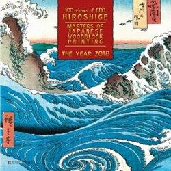 Obálka titulu Nástěnný kalendář - Hiroshige - Masters of Japanese Woodblock Painting 2018