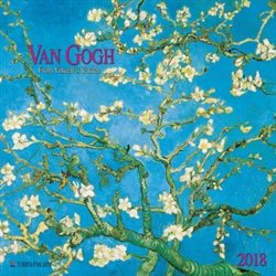 Obálka titulu Nástěnný kalendář - Van Gogh - From Vincent´s Garden 2018