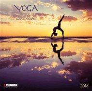 Nástěnný kalendář - Yoga Surya Namaskara 2018