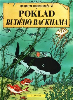 Obálka titulu Tintin 12 - Poklad Rudého Rackhama