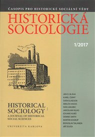 Historická sociologie 1/2017