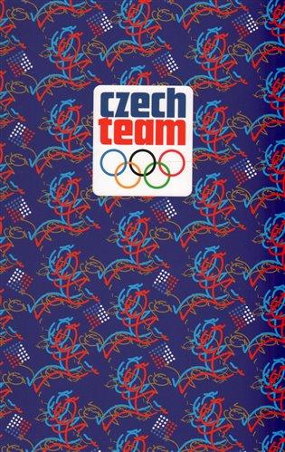 Blok - Český olympijský tým:linkovaný, spirálový, A5 - -   Booksquad.ink