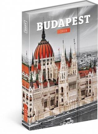 Týdenní magnetický diář Budapešť 2018 - -   Booksquad.ink
