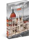 Obálka knihy Týdenní magnetický diář Budapešť 2018