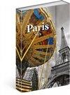 Obálka knihy Týdenní magnetický diář Paříž 2018