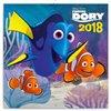 Obálka knihy Poznámkový kalendář Hledá se Dory 2018 - s pexesem