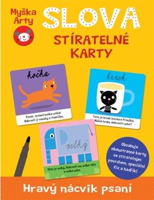 Myška Arty - Slova:Stíratelné karty - - | Booksquad.ink