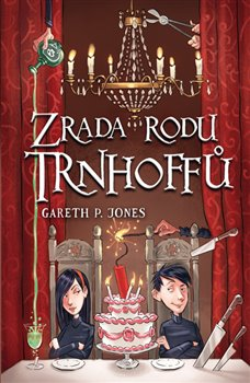 Obálka titulu Zrada rodu Trnhoffů