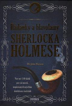 Obálka titulu Hádanky a hlavolamy Sherlocka Holmese