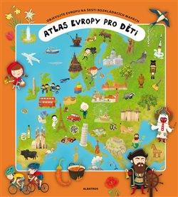 Obálka titulu Atlas Evropy pro děti