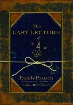 Obálka titulu The Last Lecture