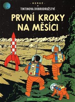 Obálka titulu Tintin 17 - První kroky na Měsíci