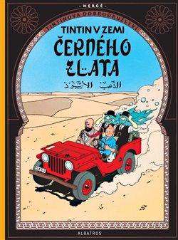 Obálka titulu Tintin 15 - Tintin v zemi černého zlata
