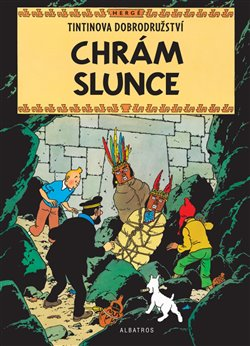 Obálka titulu Tintin 14 - Chrám Slunce