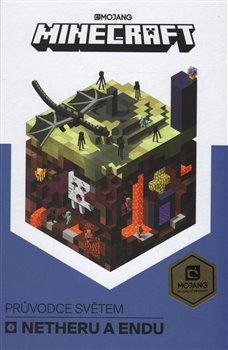 Obálka titulu Minecraft Průvodce světem Netheru a Endu