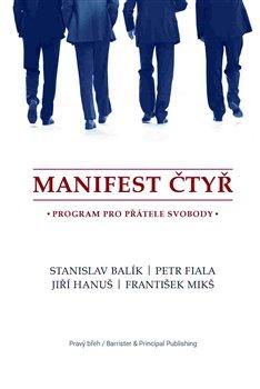 Obálka titulu Manifest čtyř
