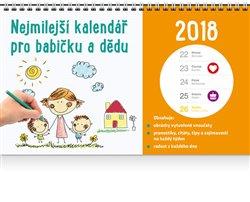 Obálka titulu Nejmilejší kalendář pro babičku a dědu 2018