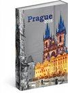 Obálka knihy Týdenní magnetický diář Praha 2018