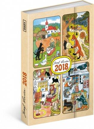 Týdenní magnetický diář Josef Lada 2018 - -   Booksquad.ink