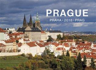 Kalendář 2018 Prague nástěnný - - | Booksquad.ink