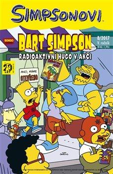 Obálka titulu Bart Simpson 8/2017: Radioaktivní Hugo v akci