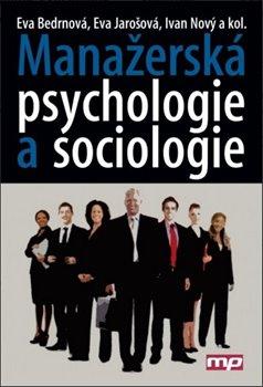 Obálka titulu Manažerská psychologie a sociologie