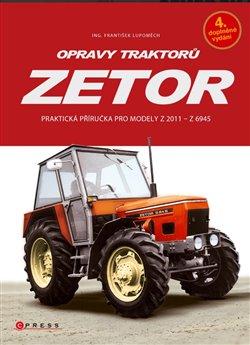 Obálka titulu Opravy traktorů Zetor