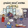 Obálka knihy Opráski sčeskí historje - Kalendář 2018