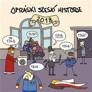 Opráski sčeskí historje - Kalendář 2018