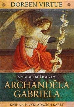 Obálka titulu Vykládací karty archanděla Gabriela