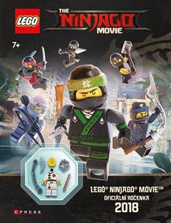 Obálka titulu Lego Ninjago Movie Oficiální ročenka 2018