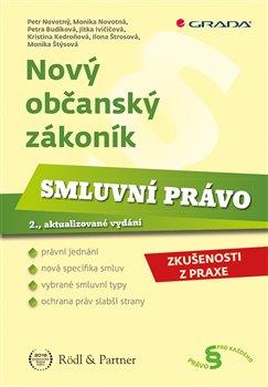 Obálka titulu Nový občanský zákoník - Smluvní právo