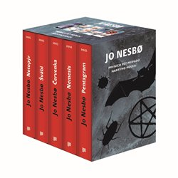 Obálka titulu Jo Nesbo box - Harry Hole I-V