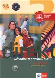 Direkt neu 3: Němčina pro střední školy – učebnice a pracovní sešit + 2 CD