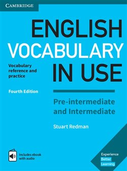 Obálka titulu English Vocabulary in Use Pre-intermediate and Intermediate with answers and Enhanced ebook - fourth edition