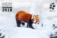 Hvězdy pražské Zoo - Nástěnný kalendář 2018
