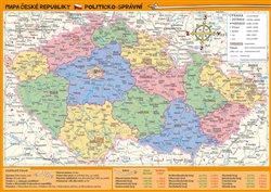 Obálka titulu Mapa České republiky – zeměpisná a politicko-správní