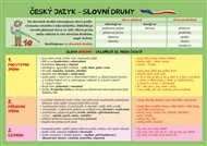 Český jazyk – Slovní druhy
