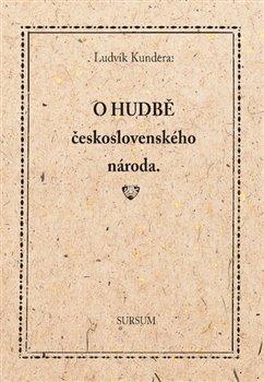 Obálka titulu O hudbě československého národa