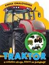 Obálka knihy Traktor - Kniha omalovánek