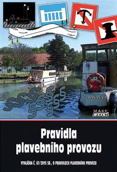 Obálka titulu Pravidla plavebního provozu