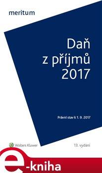 Obálka titulu Daň z příjmů 2017