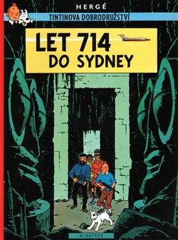 Obálka titulu Tintin 22 - Let 714 do Sydney