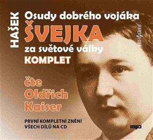 CD OSUDY DOBRÉHO VOJÁKA ŠVEJKA ZA SVĚTOVÉ VÁLKY KOMPLET