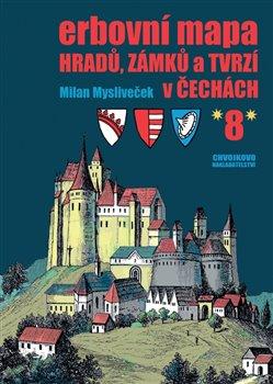 Obálka titulu Erbovní mapa hradů, zámků a tvrzí v Čechách 8