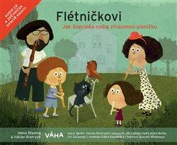Obálka titulu Flétničkovi – Jak Soprinka našla ztracenou písničku?