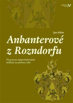 Obálka titulu Anbanterové z Rozendorfu