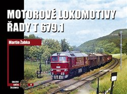 Obálka titulu Motorové lokomotivy řady T 679.1